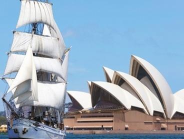Sydney: Overnight Tall Ship Cruise for Up to Four with Meals, Drinks and Goat Island Tour with Soren Larsen by Night