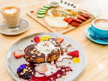 All-Day Brunch and Coffee for Two ($25) or Four People ($49) at 88 Keys Melbourne (Up to $108 Value)