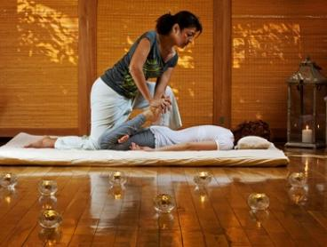 90-Min Thai Massage Pamper Package with Tea Experience for 1 ($79) or 2 People ($155) at Kinnari's (Up to $340 Value)