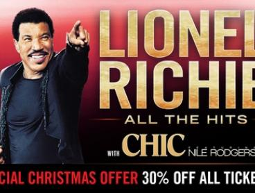 Lionel Richie: 30% Off Tickets, 29 March - 8 April 2018, Nationwide Tour