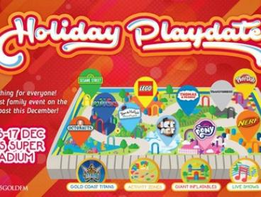 Holiday Playdate Tickets from $30.50, 15-17 December 2017 - Sesame Street , Ben & Holly, Ice Age Ice Rink plus more...