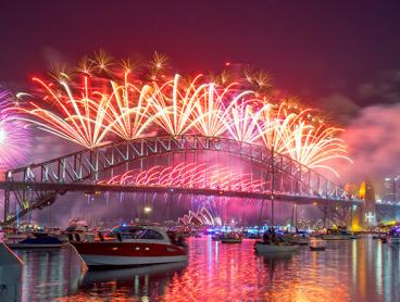 Get Your Ticket to the Event of the Year! New Year's Eve Cruise on Sydney Harbour with Canapes, Huge Buffet, Free-Flowing Drinks and More for Just $699 per Person