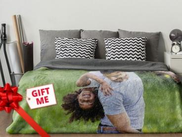 From $24.99 for a Personalised Photo Blanket (Don't Pay Up to $283.90)