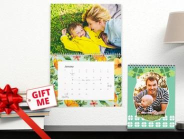 Personalised Wall or Desk Calendar: One (from $5.99), Two (from $10.99) or Five (from $24.99) (Don't Pay up to $174.75)