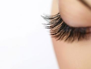 $49 for Full Set of 80-Piece Silk or Mink-Effect Eyelash Extensions at Ain Beauty (Up to $120 Value)