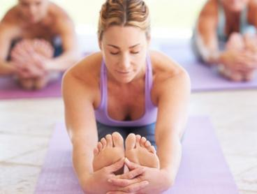 1 Month of Unlimited Yoga Classes for One ($39) or Two People ($75) at Bonfire Yoga, Three Locations (Up to $198 Value)