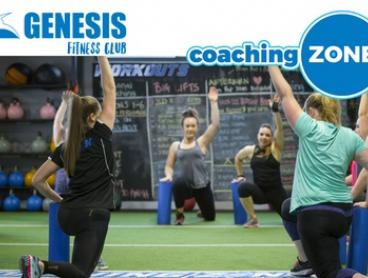 3-Week Membership for 1 ($14) or 2 People ($25) with Genesis Fitness - Coaching Zone, 20 Locations (Up to $299 Value)