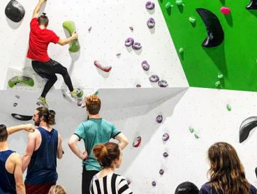 Indoor Bouldering Pass with Shoe Hire and Chalk Bag: Three-Visit Passes from $39, or Five-Visit Passes from $59 (Valued Up To $145)