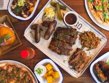 Three-Course Meal with Drinks for Two ($59) or Four People ($118) at Deen Street BBQ, Northbridge (Up to $210 Value)
