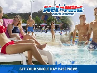 Wet'n'Wild Gold Coast: Child ($69) or Adult ($79) Single Day Pass (Up to $89 Value*)