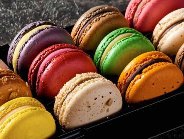 Sweet French Macarons from Renowned Bankstown Patisserie: Two Dozen Macarons for $22, Five Dozen for $53, or 10 Dozen for Only $105 (Valued Up To $300)