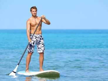 Stand-Up Paddle Hire for One ($19), Two ($38) or Four People ($76) at Noosa Stand Up Paddle (Up to $220 Value)
