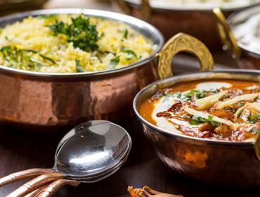 Indian Feast with Sides and Wine in Parkside is $35 for Two People or $69 for Four People (Valued Up To $179.80)