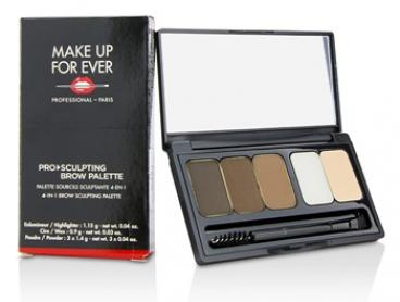 Make Up For Ever - Pro Sculpting Brow Palette - # 2 (Harmony 2)