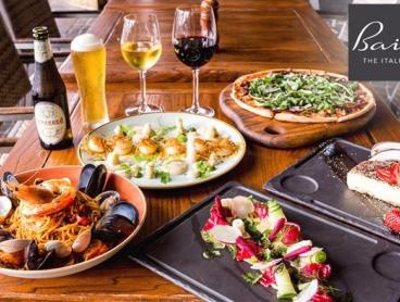 Save on Waterfront Italian Dining