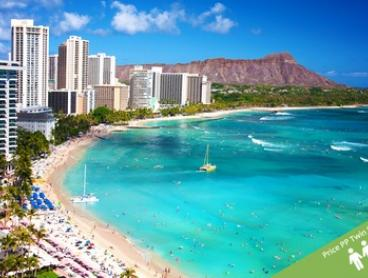 ✈ Hawaii: From $1,299 Per Person + Resort Fee for a 7-Night Getaway with Flights at Pearl Hotel Waikiki