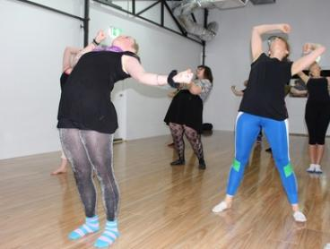 7-Day Unlimited Adult Dance Classes for 1 ($9) or 2 People ($15) at Stomping Ground Studios (Up to $240 Value)