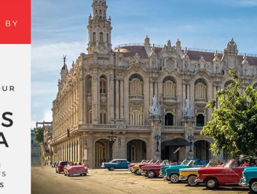 Say hello to colourful Cuba on an eight-day small-group tour, discovering classic cars, cocktails, celebrity hideaways and revolutionary history along the way. Sip a mojito in its birthplace in Havana, snorkel past bright coral in the Bay of Pigs, marvel at Trinidads beautiful colonial buildings and visit the burial site of revolutionary Che Guevara. All this plus seven nights of accommodation, daily breakfasts, local English-speaking guides and more. Watch the video below.