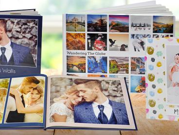 Preserve Your Memories with a Personalised Photobook. Choose from a Range of Sizes Starting from Just $5 for a 24-Page Photobook (Valued From $34.35)