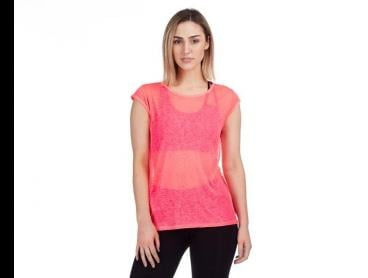 Russell Athletic Women's Platinum Basic T-Shirt - Atomic