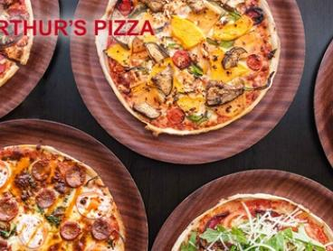 $19 for Two Large Takeaway Pizzas at Arthur's Pizza, Bexley (Up to $44 Value)