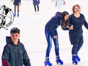 Ice Skating Session - Child ($13), Adult ($15) or Family Pass ($45) at Canterbury Olympic Ice Rink (Up to $75 Value)