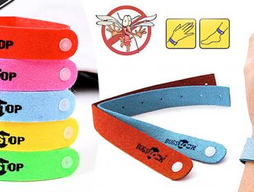 Help Prevent Annoying Itchy Bites and Buzzing Throughout the Night with This 10 Pack of Anti-Mosquito Bracelets! Great for Hiking and Camping. From $19 with Delivery Included!