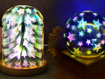 Add a Little Light Decoration to Your Work Space or Bedroom with These Gorgeous and Eye-Catching Mirror Dome Lights. From $29