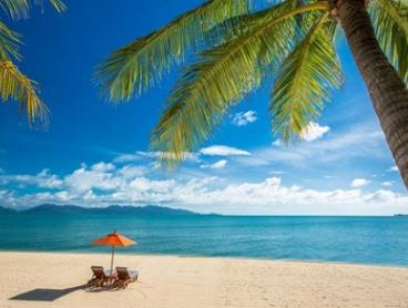 Samui and Koh Tao: 7-Night Getaway for 2 with Breakfast and Tea at Santiburi Resort & Spa and The Beach Club by Haadtien