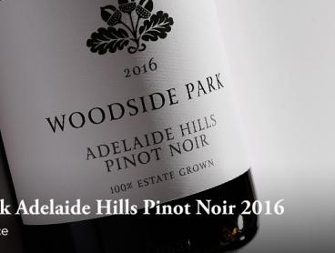 Enjoy A Dazzling Red from a Five Star Winery with Woodside Park Adelaide Hills Pinot Noir 2016