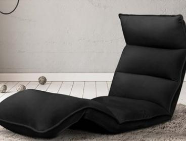 Adjustable Lounge Sofa Bed: Single (from $99) or Double ($159)