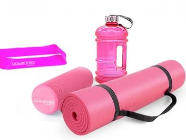 From $24 for a Yoga Textured Foam Massage Roller or $49 for a Yoga Value Pack with Bottle