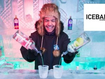 $39 for One-Hour Ice Bar Experience with Drinks at Icebar Experience, Two Locations (Up to $65 Value)