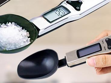 Make Exact Measurements in the Kitchen with This Digital Electronic LCD Scale Kitchen and Lab Spoon! Great for Baking and More! From Only $19 with Delivery Included
