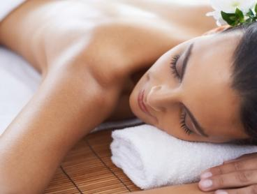 60-Minute Relaxation or Hot Stone Massage ($29) Plus 90-Minute Facial ($69) at Sky Beauty and Spa (Up to $160 Value)