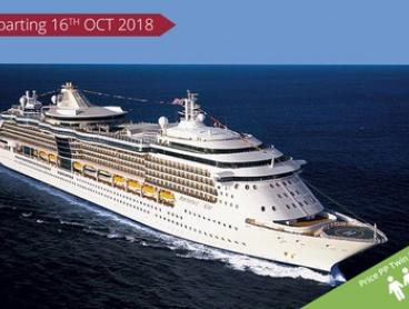 Sydney: From $699 Per Person for a Cruise with Meals & Entertainment Onboard Radiance of the Seas Departing 16 Oct 2018