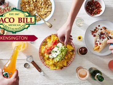 $12 for $20 or $25 for $50 to Spend on Mexican Food and Drinks at Taco Bill - Kensington