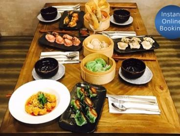 Seven-Dish Asian Fusion Banquet with Wine for Two ($69) or Four People ($135) at Modu (Up to $331.20 Value)