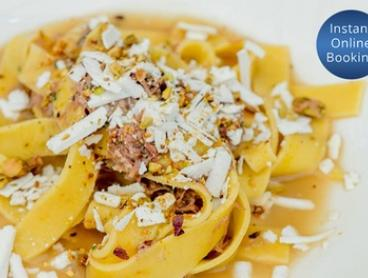 $30 for $60 to Spend on Italian Food and Drinks for Minimum Two People at Capriccio Osteria e Bar