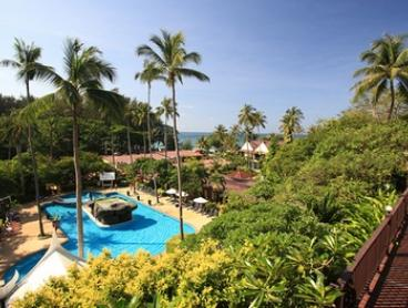 Phuket: From $279 for a 5- or 7-Night Tropical Stay for Two with Breakfasts, Massage, and Dinner at All Seasons Naiharn