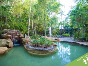 ✈ Cairns: Three- or Five-Night Romantic Getaway with Tropical Breakfast & Welcome Drinks at Kewarra Beach Resort and Spa