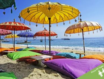 ✈ Seminyak,Bali: From $429 for a Six-Night Getaway with Flights, Meals and Transfers at 4* D'djabu Hotel