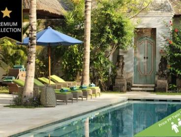 ✈ Bali, Sanur: From $649 Per Person for 7-Night 5* Tropical Escape with Breakfast & Flights at Sudamala Suites & Villas