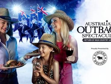 Australian Outback Spectacular - Three Course Dinner, Show & Drinks from only $69 (up to $109.99 value)