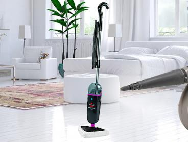 Sanitise Your Home with the Power of Steam with This Easy to Use Steam Mop Select and Steam Shot Handheld Cleaner Combo Set for Just $149
