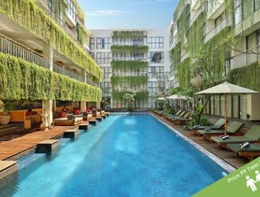 ✈ Legian, Bali: From $589 Per Person for 7-Night Tropical Escape with Flights, Breakfast, and Wi-Fi at Hotel Neo Kuta