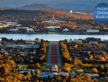 Canberra: 1 Night for Two People with Late Check-Out at Brassey Hotel