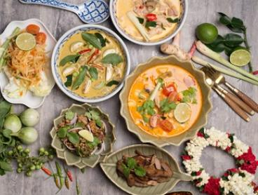 3-Course Thai Dinner + Wine for 2 ($49) or 3-Course Set Menu for 4 Ppl ($99) at Ariya Thai Cuisine (Up to $180 Value)