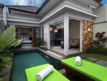 Bali: Up to 10-Night Pool Villa Stay for Two People with Breakfast, Massage and Transfers at Maharaja Villas Seminyak