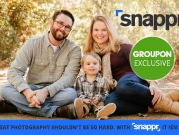 $3 for $30 Credit to Spend on Photography Service with Snappr - Min Spend $90